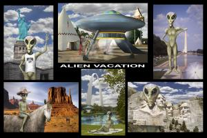Alien Vacation Photos Found By Mike McGlothlen
